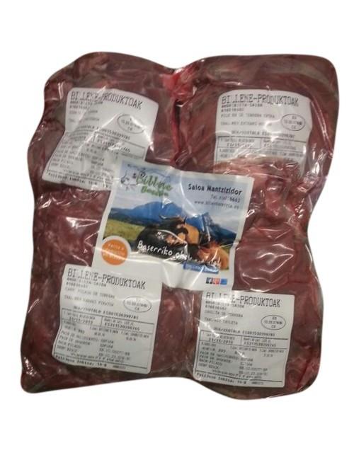 Lote de carne de ternera de Billene Baserria