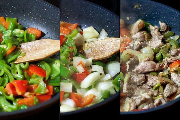 comida natural carne de ternera natural